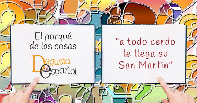 """""""A todo cerdo le llega su San Martín"""""""