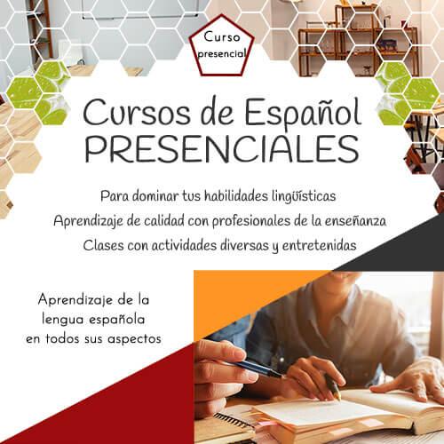 Cursos de español presenciales