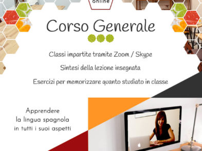 Corso Generale Online - Degusta el Español