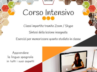 Corso intensivo Online - Degusta el Español