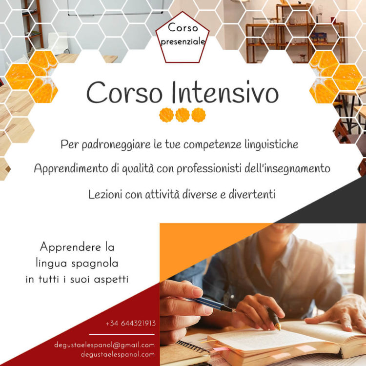 Corso Intensivo di spagnolo - Degusta el Español