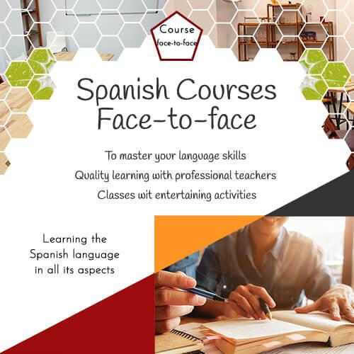 Presential Spanish courses - Degusta el Español