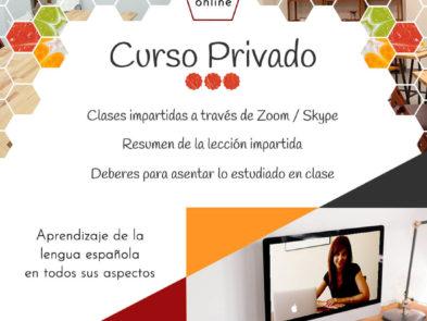 Curso privado de español online - Escuela Degusta el Español